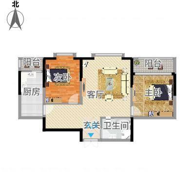 大庆_奥林国际公寓_2016-04-18-1444