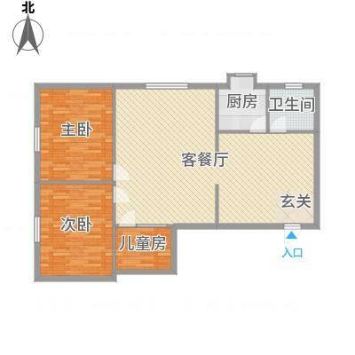 省二建公司宿舍太原省二建公司宿舍户型10室-副本