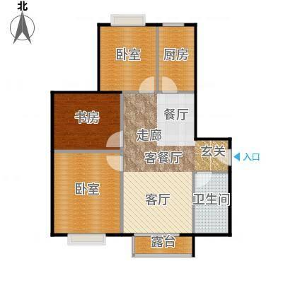 北京明发广场102.04㎡B2户型1室1厅1卫1厨-副本 顾客王先生