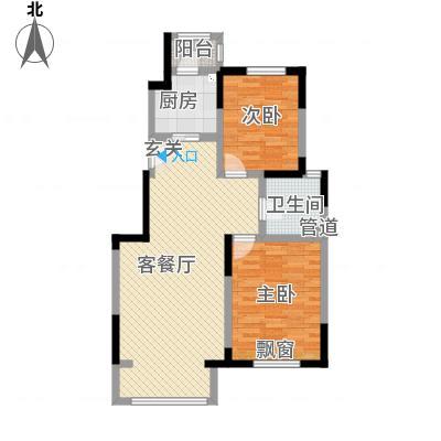 宝坻区宝境檀香_一期A户型90㎡