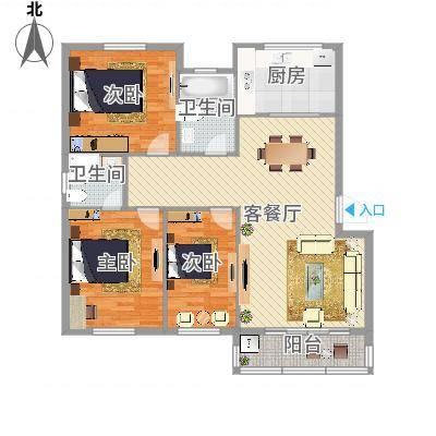 华光城一期126平米(任务2)