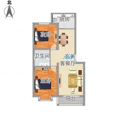 巨海城五区巨海城五区户型图2室1厅62室1厅1卫1厨户型2室1厅1卫1厨-副本