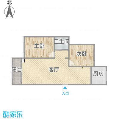 大连_鼎盛水晶湾_5号楼84.91