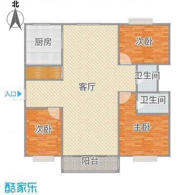 上海_正阳名仕苑3室2厅2卫_2016-04-25-1803