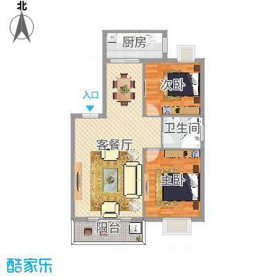 天封社区两室两厅一卫
