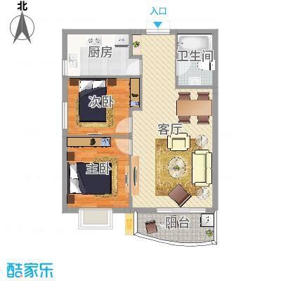 双梁小区3室1厅77平方