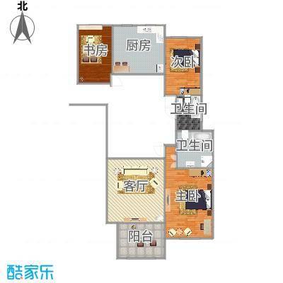 万国公馆138平米三室两厅两卫-副本