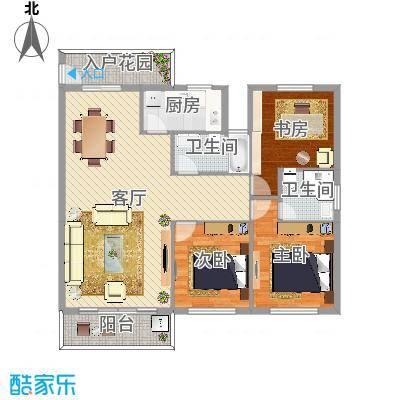 白鹭园小区3室2厅2卫1厨