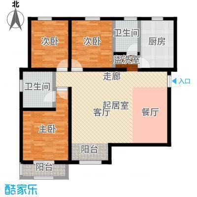 燕云台户型3室2卫1厨-副本