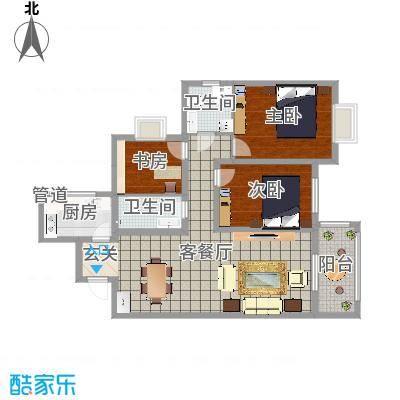 太原_府西国际公寓_2016-04-28-0811