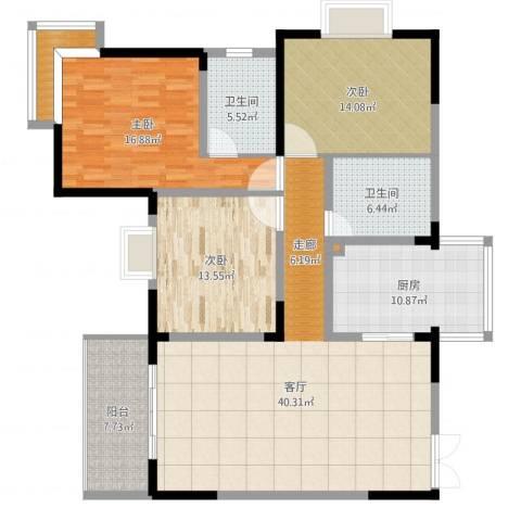 广西防城港铜锣湾9#楼06户型-副本