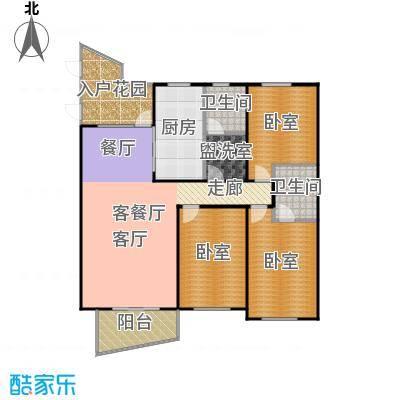东辰清风港146.00㎡C户型3室2厅2卫-副本