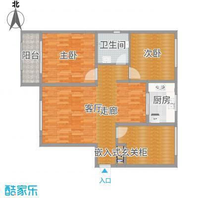 乐豪斯-致臻园三室两厅HS009-副本