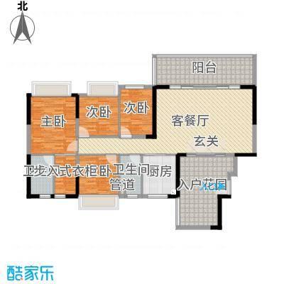 碧桂园・东江凤凰城147.20㎡户型4室2厅2卫1厨