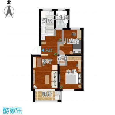简约两居室
