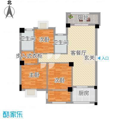 中骏蓝湾尚都-三房版本