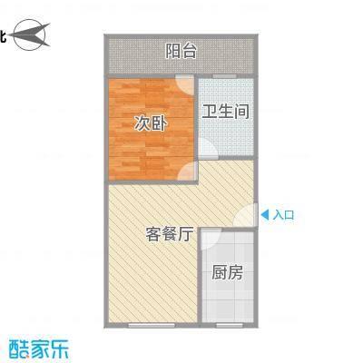 建发宿舍1梯02户型