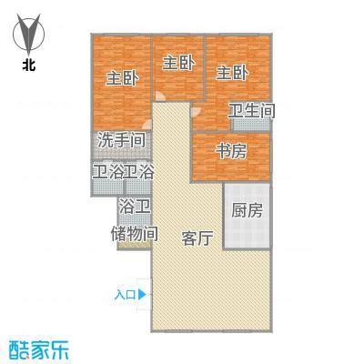 中环滨江花园的户型图