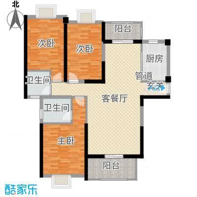 新美居海湾广场3137.20㎡3户型3室2厅2卫1厨-副本