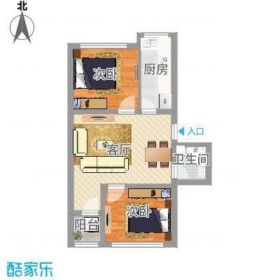 华严社区2室1厅1卫1厨(1)