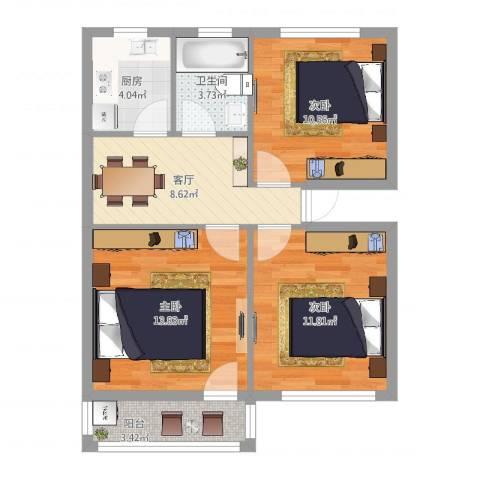 华严社区3室1厅1卫1厨(1)