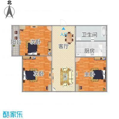 春馨苑3室1厅1卫-副本