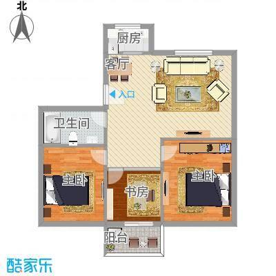 胜丰佳苑3室2厅1卫1厨