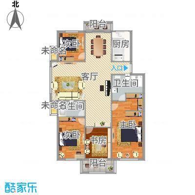 塞纳丽景155平四室两厅两卫
