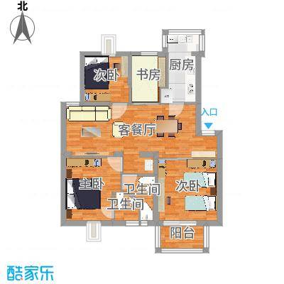 漾河公寓3室2卫2厅 - 副本