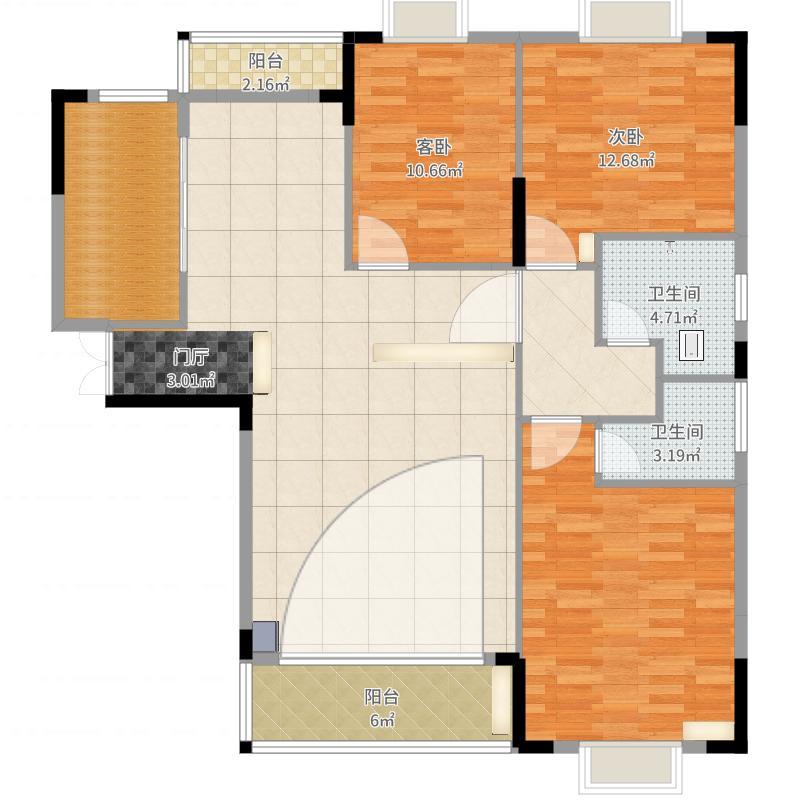 乐仙小镇36-802户型图大全,装修户型图,户型图分析,图
