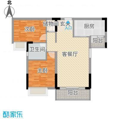 滨河佳苑105.04㎡B2_户型3室3厅2卫1厨