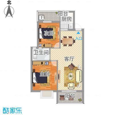 盛世郦都两室两厅