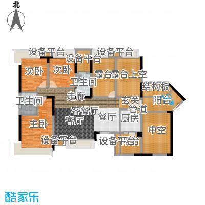 三利宅院267.00㎡面积26700m户型-副本