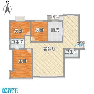 万成广场165.96㎡A户型3室3厅2卫1厨