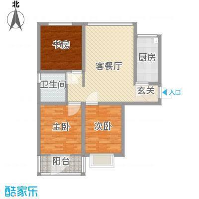 东发现代城山水园18.23㎡多层户型3室1厅1卫1厨-副本