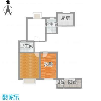 紫光华庭・新世纪113.62㎡D户型3室2厅2卫1厨-副本