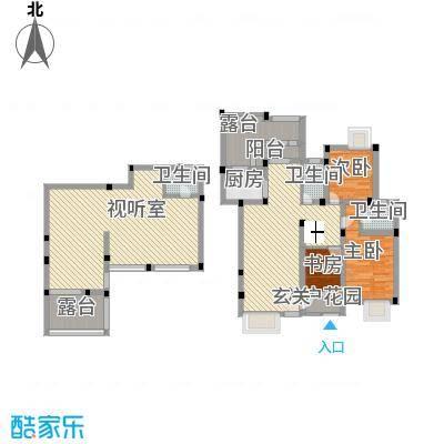 长欣苑144.00㎡四居室户型-副本
