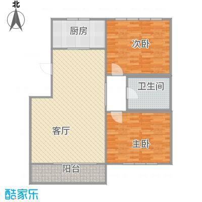 世茂・萨拉曼卡50.80㎡叠拼别墅下叠B1二层户型10室-副本