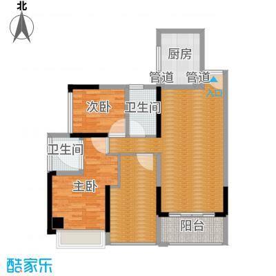 上东国际三期-14栋1单元01-3室2厅2卫1厨90平米-副本