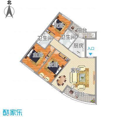 银桂公寓4室2厅2卫1厨