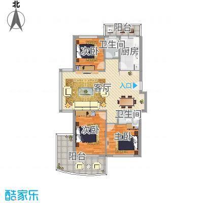 银桂公寓2室1厅1卫1厨