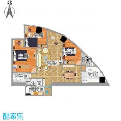 上海金桥大厦户型图