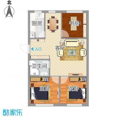万安小区3室2厅1卫