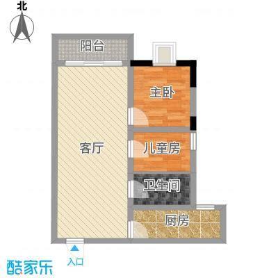 大信桂竹园86.82㎡B户型