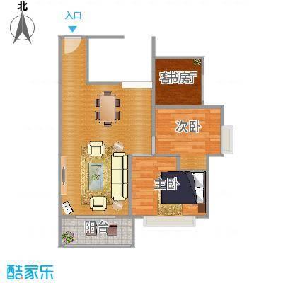 嘉和名苑两室一厅