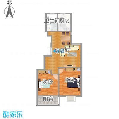 杭州欣景苑90方户型