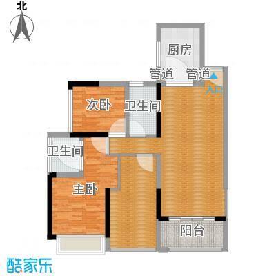 上东国际三期-14栋1单元01-3室2厅2卫1厨90平米-副本-副本