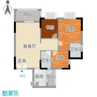 汇景二期(汇景银座) 3室 户型图-副本