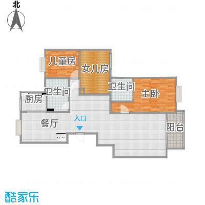 B4-4-601户型三房三厅-副本