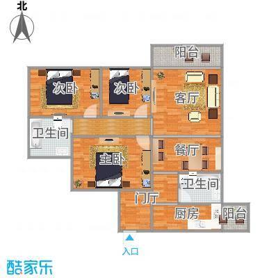 和谐苑3房